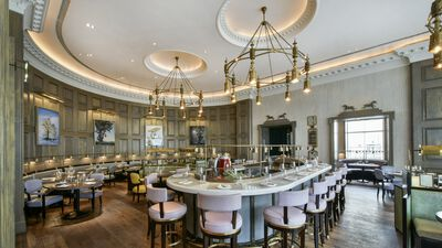 The Langham Hotel London, Roux At The Landau
