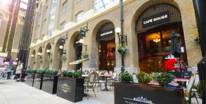 Cafe Rouge Hay's Galleria, Restaurant