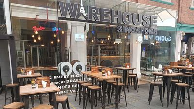 Warehouse Bar, Exclusive Hire