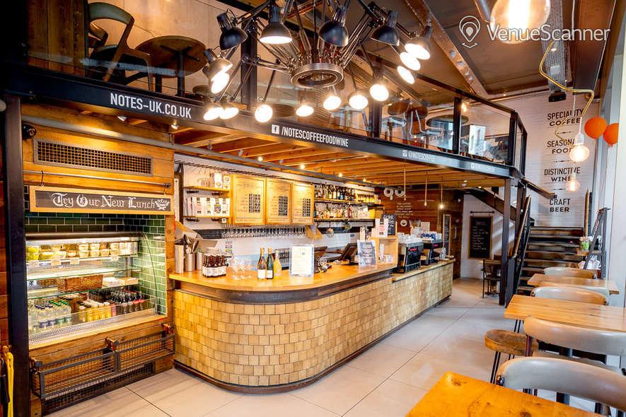 Hire Notes Coffee Roasters & Bars Kings Cross Mezzanine 1