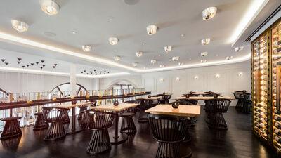 BRONTE Restaurant & Cocktail bar, Mezzanine area