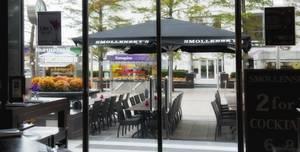 Smollenskys Bar Canary Wharf, Plaza terrace