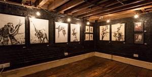 The Crepe Shop Art Cafe, Rustic Art Gallery Basement in Whitechapel E1