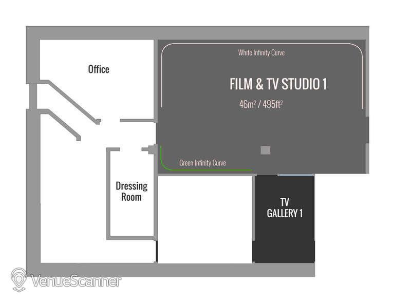 Hire Price Studios Ltd TV Studio 1