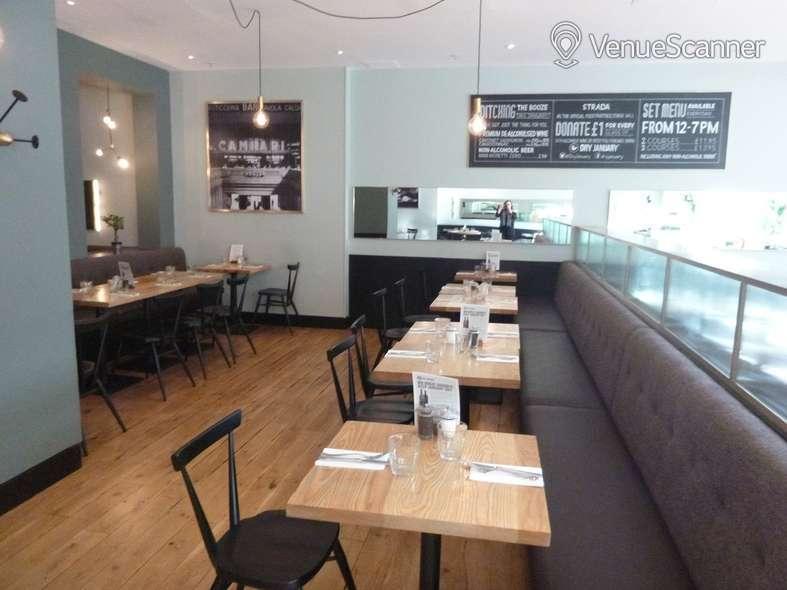 Hire Strada Dockside Semi Private Dining Area 1