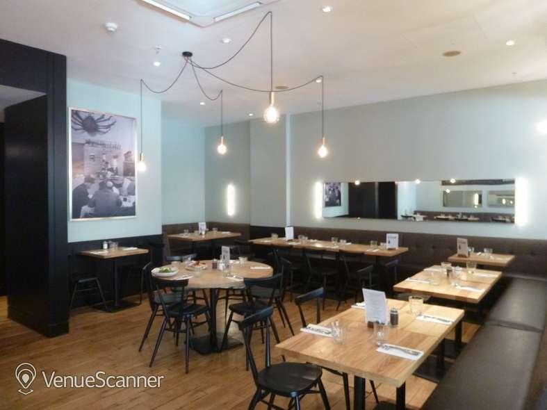 Hire Strada Dockside Semi Private Dining Area