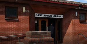 Castlemilk Library, Library