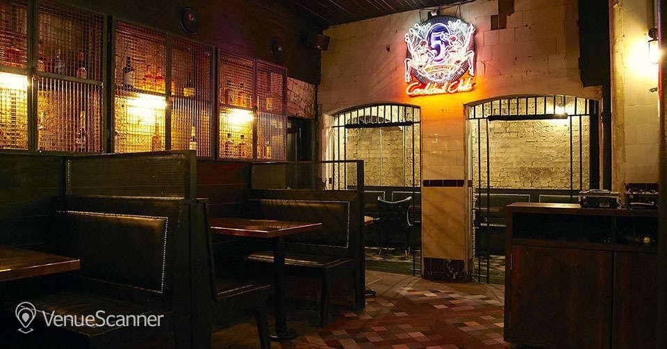 Hire Harrild & Sons 5cc Cocktail Bar 3