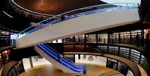 Unique Venues Birmingham, Book Rotunda