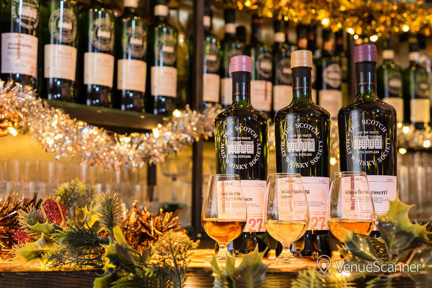 Hire The Scotch Malt Whisky Society - The Vaults The Cask Room 5