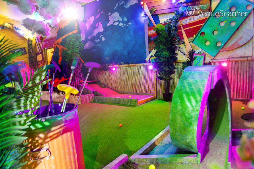 Hire Plonk Crazy Golf Shoreditch The Whole Course