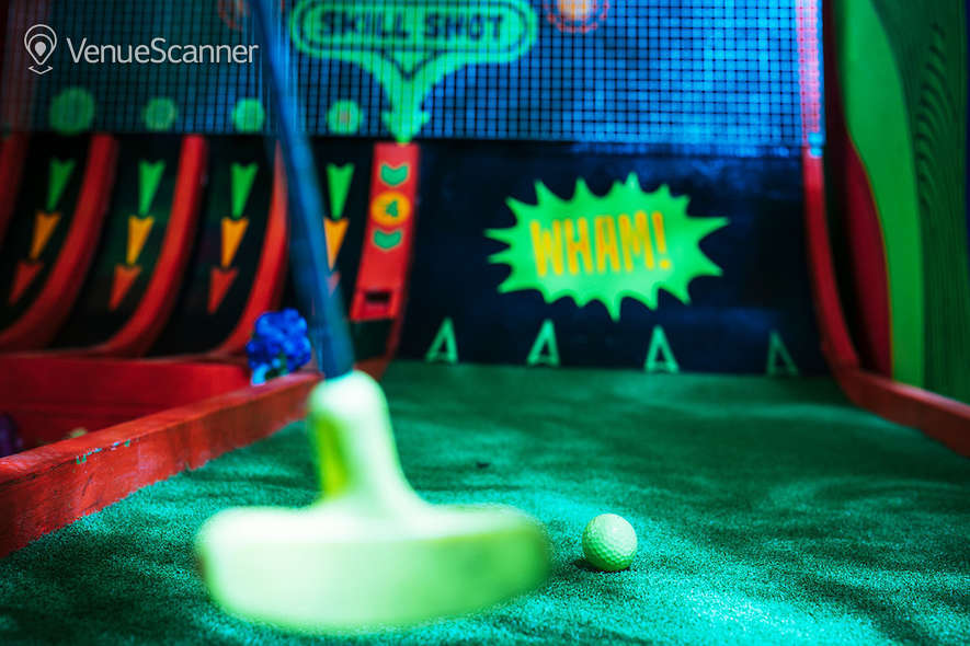 Hire Plonk Crazy Golf Shoreditch The Whole Course 4