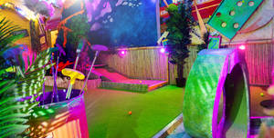 Plonk Crazy Golf Shoreditch, The Whole Course