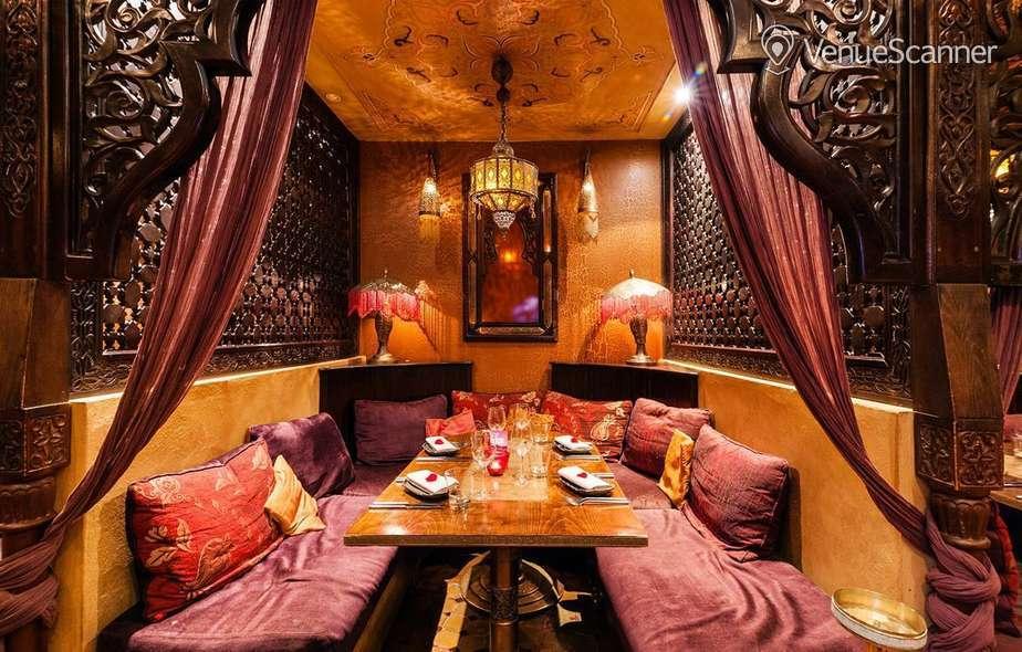 Hire Kenza Restaurant Lounge Kenza Alcove 4