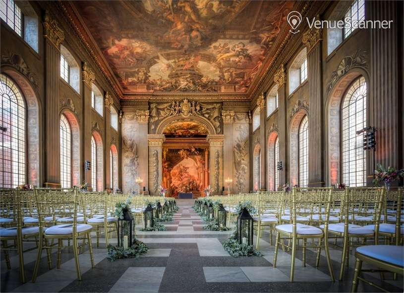 Hire The Painted Hall, Old Royal Naval College, Greenwich Whole Venue