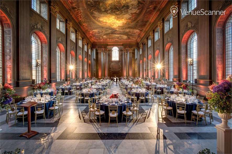 Hire The Painted Hall, Old Royal Naval College, Greenwich Whole Venue 2
