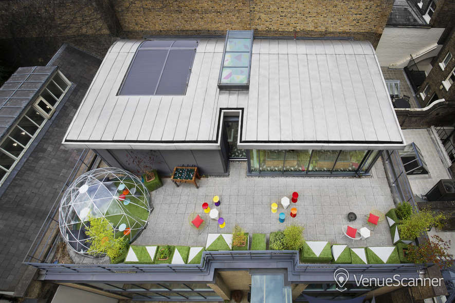 Hire The Collective Venues - Bedford Square The Terrace 3