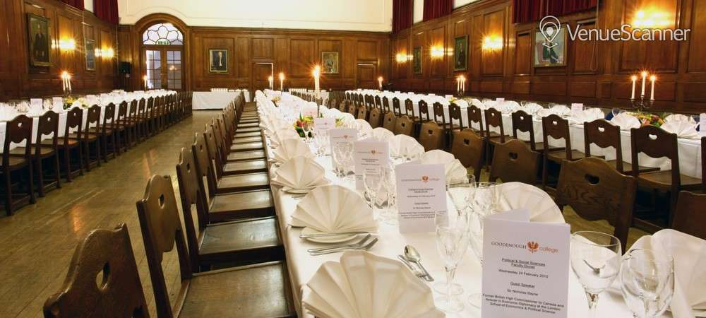 Hire Goodenough College The Great Hall 3