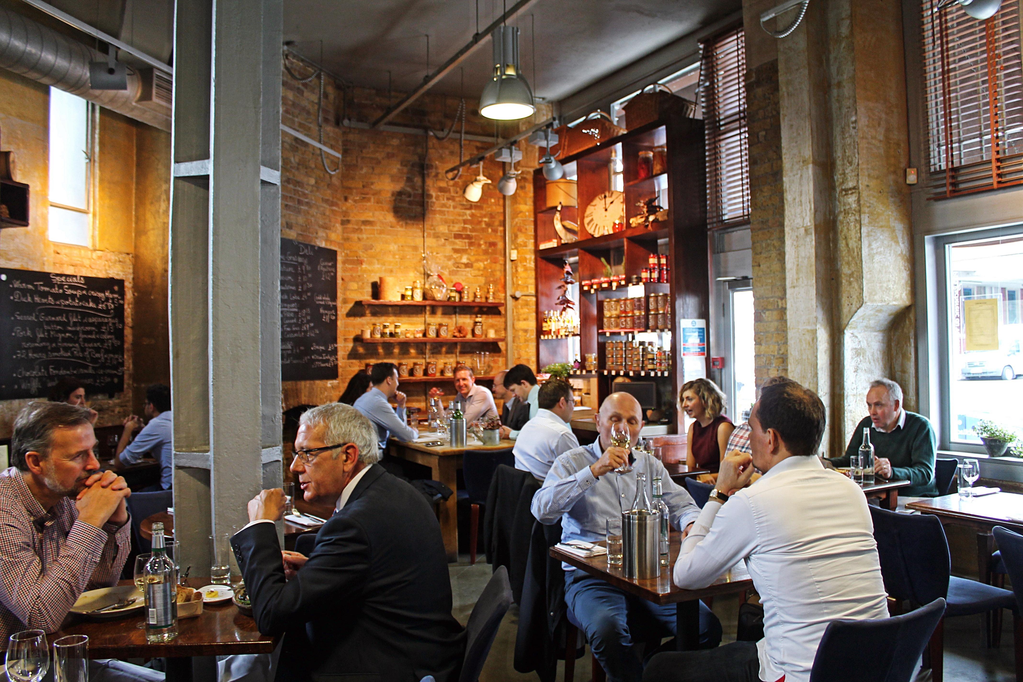 Hire comptoir gascon full restaurant venuescanner - Comptoir restaurant london ...