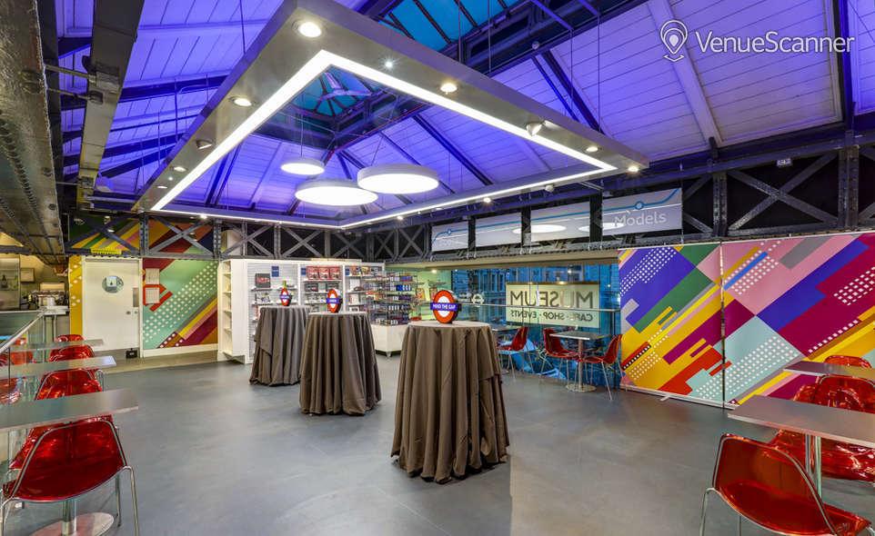 Hire London Transport Museum Upper Deck Venuescanner