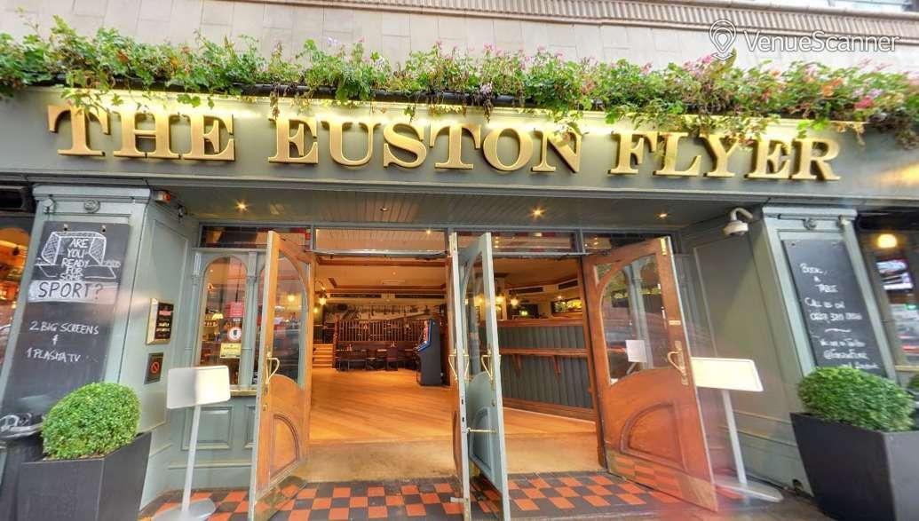 Hire The Euston Flyer Raised Dining Area 3