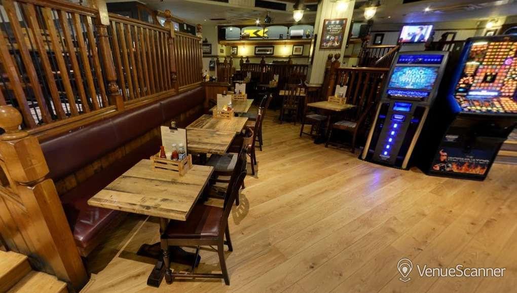 Hire The Euston Flyer Raised Dining Area 1