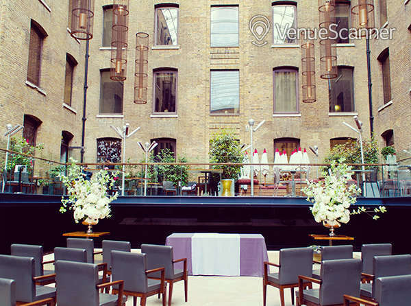 Hire Cinnamon Kitchen And Anise Bar Outdoor terraces