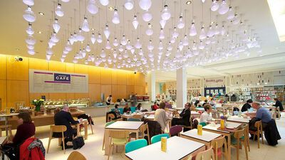 Wellcome Collection Cafe, Cafe