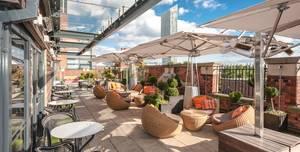 Great John Street Hotel, Rooftop Lounge Terrace