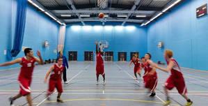 University of Bolton, Sports Hall