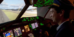 The Emirates Aviation Experience, Flight Simulators