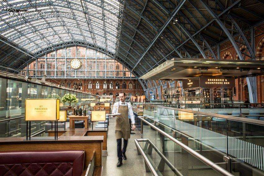 Hire St Pancras By Searcys Champagne Bar 1