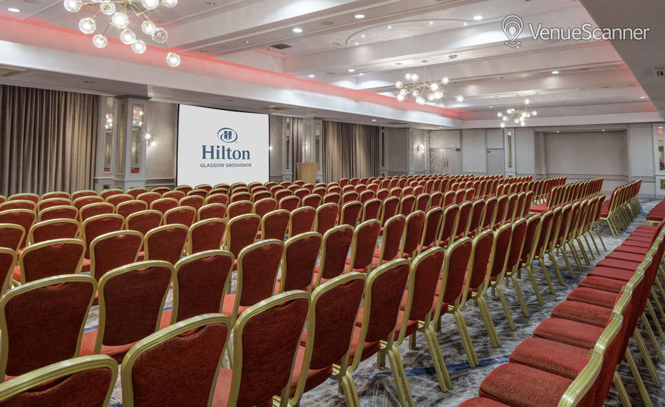 Hire Hilton Glasgow Grosvenor Grosvenor Suite