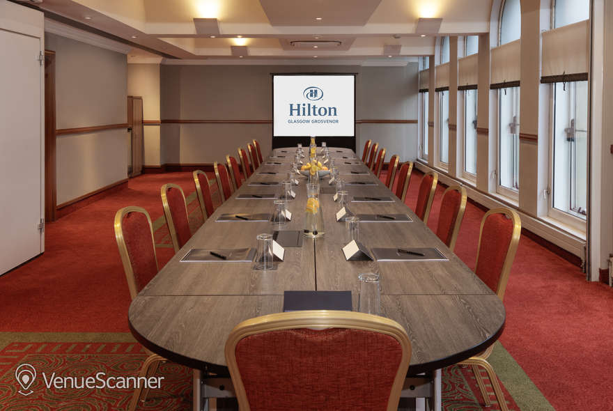 Hire Hilton Glasgow Grosvenor Kibble Suite