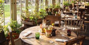 The Pig Near Bath, The Kitchen Garden Table