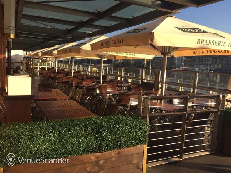 Hire Browns Butlers Wharf Decked Terrace 1