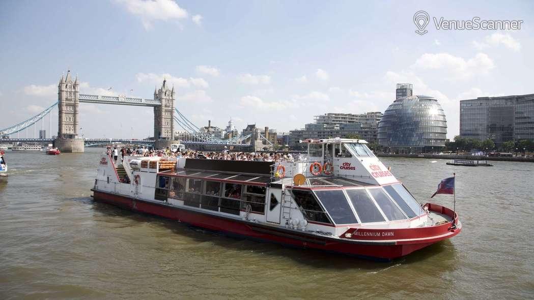 Hire City Cruises Millennium Time & London