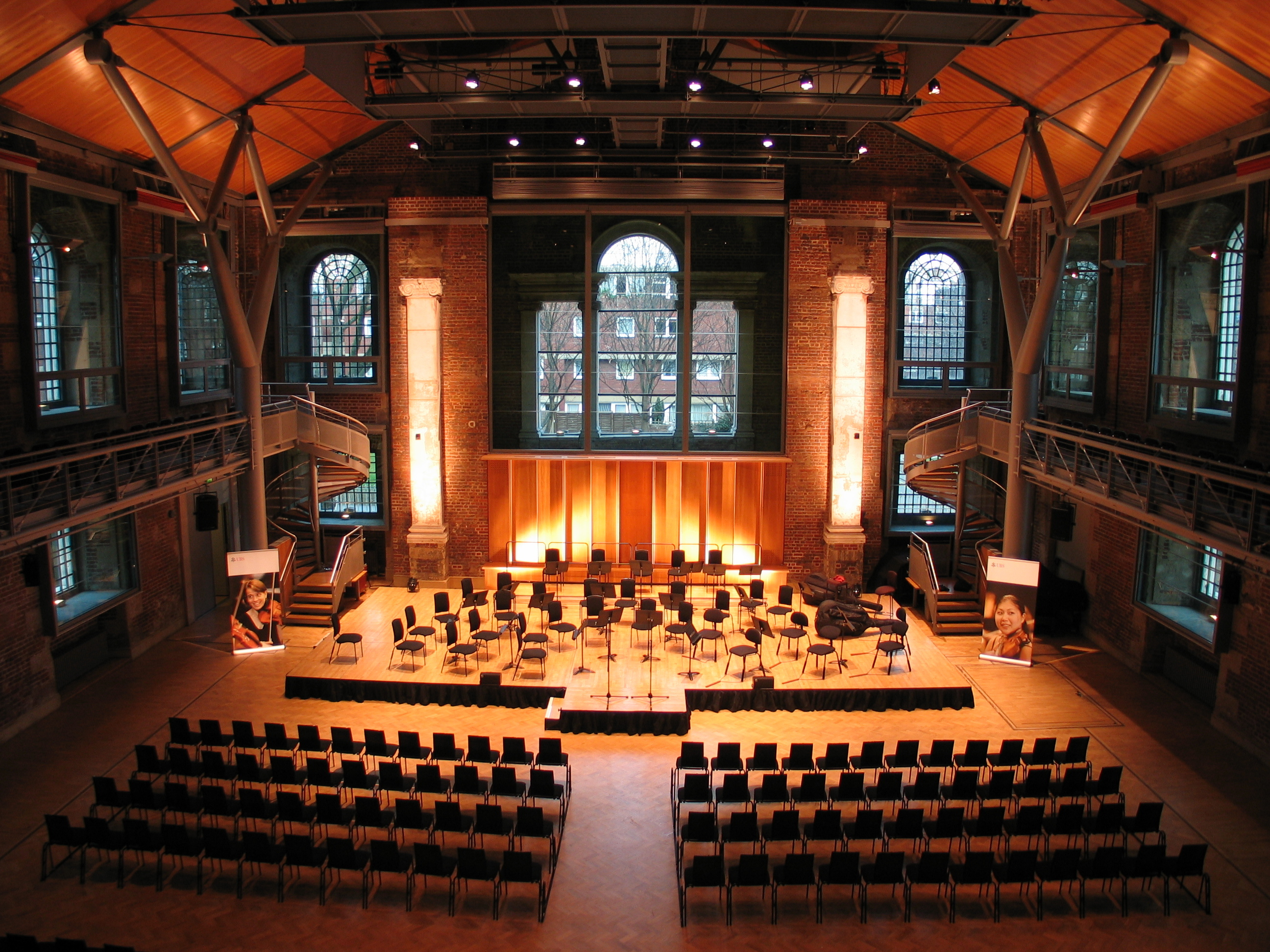 Hire Lso St Lukes | Jerwood Hall | VenueScanner