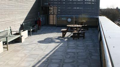 Haileybury Centre, Roof Terrace