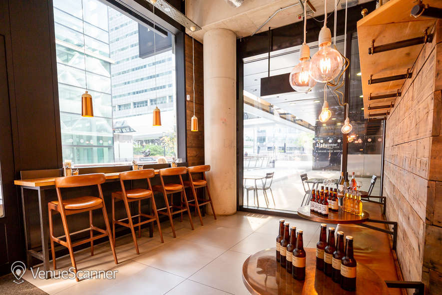 Hire Notes Coffee Roasters & Bars - Canary Wharf Full Venue W/ Outdoor Space 1