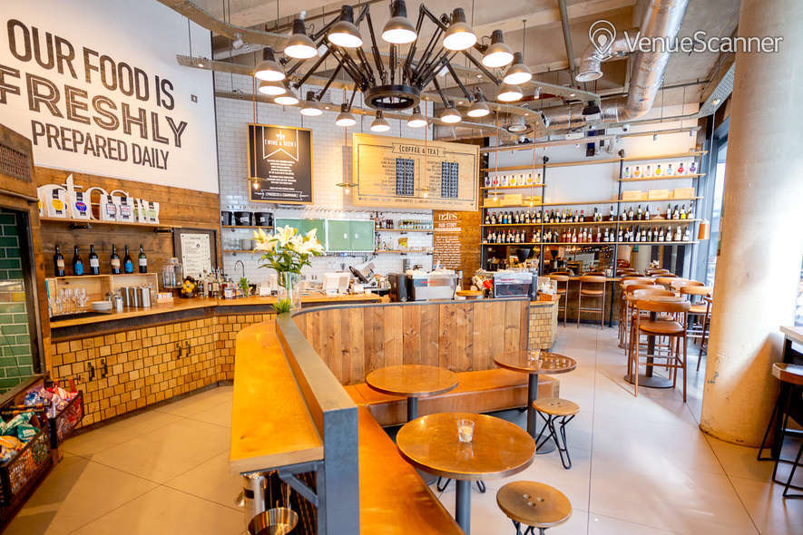 Hire Notes Coffee Roasters & Bars - Canary Wharf Full Venue W/ Outdoor Space 6
