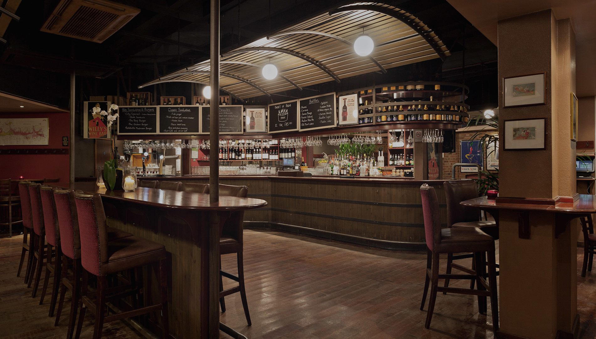 Hire Willys Wine Bar Bar Area Venuescanner