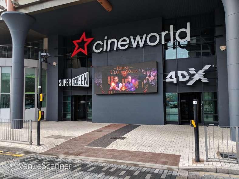 Hire Cineworld Cardiff Screen 1 - 124 Seats
