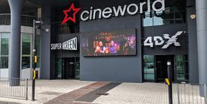 Cineworld Cardiff, Screen 1 - 124 Seats