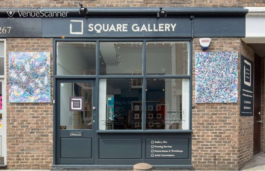 Hire The Square Gallery London  The Gallery 3