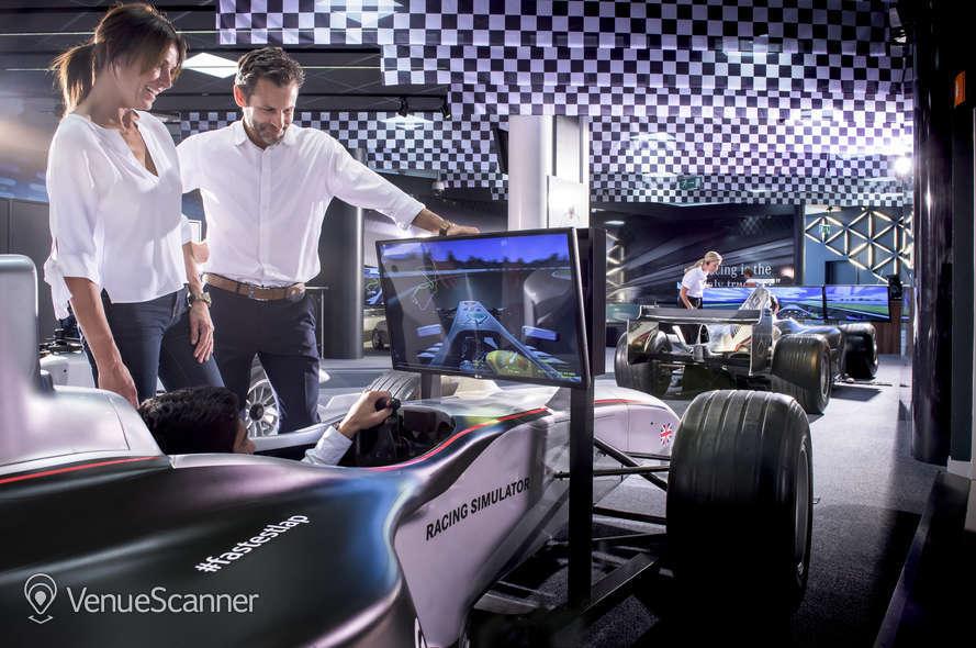 Hire Mercedes - Benz World F1 Simulator Zone