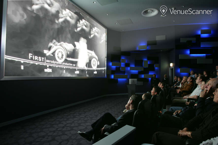 hire mercedes - benz world | cinema | venuescanner