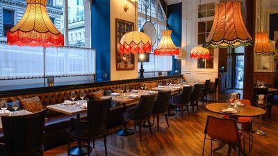 Ibérica Glasgow, Restaurant Area