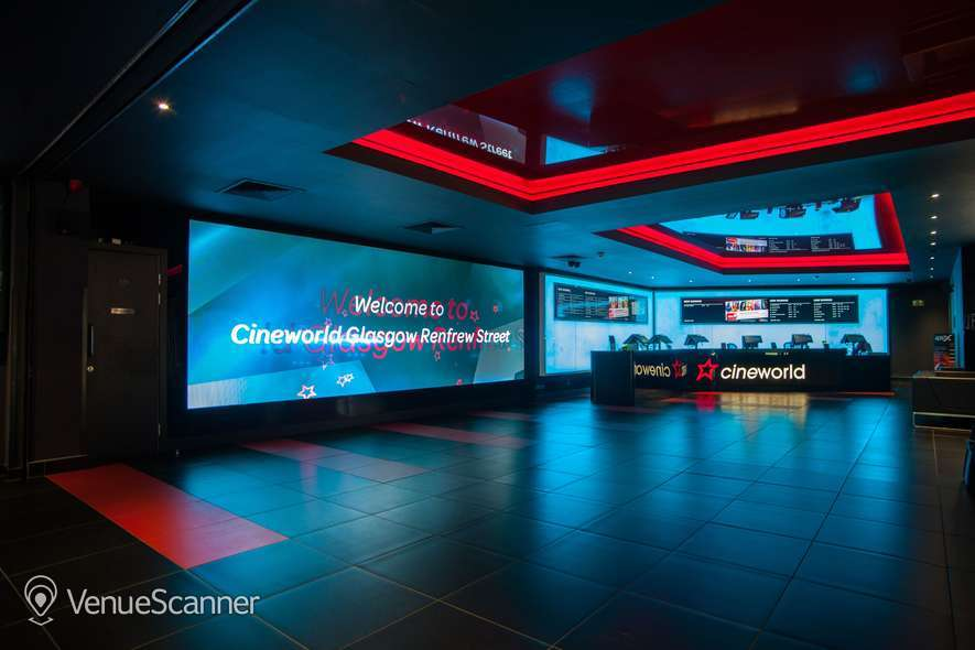 Hire Cineworld Glasgow Renfrew Street Screen 6 - 139 Seats 1