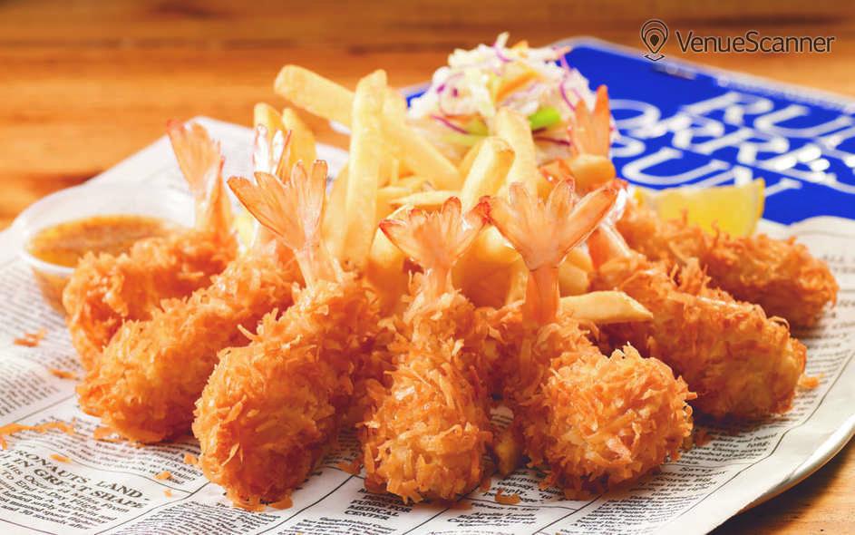 Hire Bubba Gump Shrimp, London Beaufort Room 6